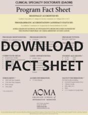 DAOM Fact Sheet Button